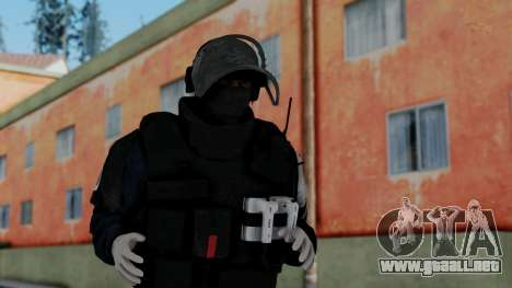 GIGN from Rainbow Six Siege para GTA San Andreas