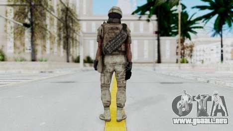 Crysis 2 US Soldier 7 Bodygroup B para GTA San Andreas tercera pantalla