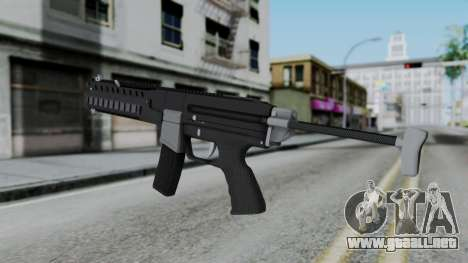 GTA 5 Combat PDW - Misterix 4 Weapons para GTA San Andreas segunda pantalla