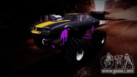 GTA 5 Imponte Phoenix Monster Truck para vista inferior GTA San Andreas