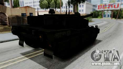 Point Blank Black Panther Woodland para GTA San Andreas left