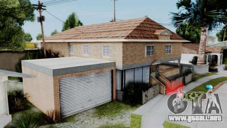 Nueva textura en casa Se v2 (interior) para GTA San Andreas segunda pantalla