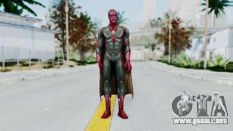 Marvel Future Fight - Vision (AOU) para GTA San Andreas segunda pantalla