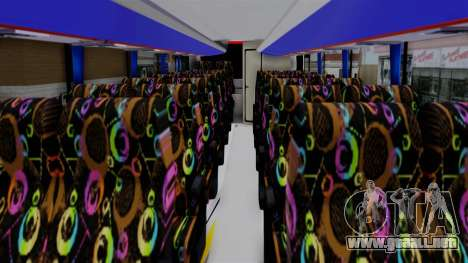 Laksana Legacy Hino AK8 Sugeng Livery para la visión correcta GTA San Andreas