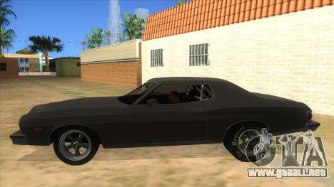 Ford Gran Torino Drag para GTA San Andreas left