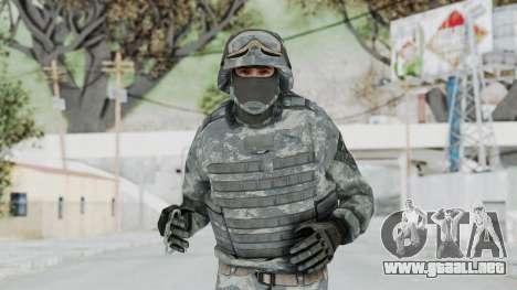 Acu Soldier Balaclava v4 para GTA San Andreas