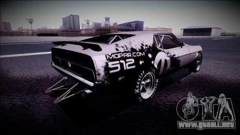 1971 Ford Mustang Drag para GTA San Andreas left