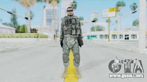 Acu Soldier 6 para GTA San Andreas segunda pantalla