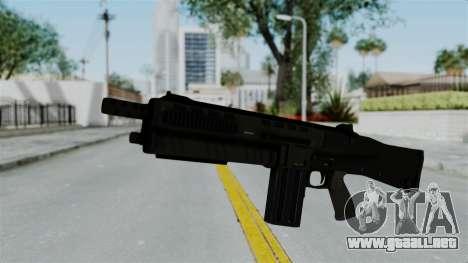 GTA 5 Assault Shotgun para GTA San Andreas segunda pantalla