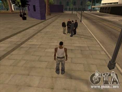 Los rusos en el distrito Comercial para GTA San Andreas tercera pantalla