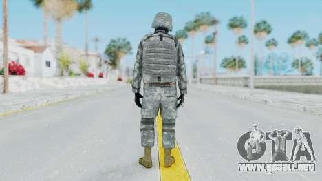 Acu Soldier Balaclava v3 para GTA San Andreas tercera pantalla
