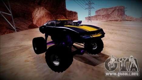 GTA 5 Imponte Phoenix Monster Truck para visión interna GTA San Andreas