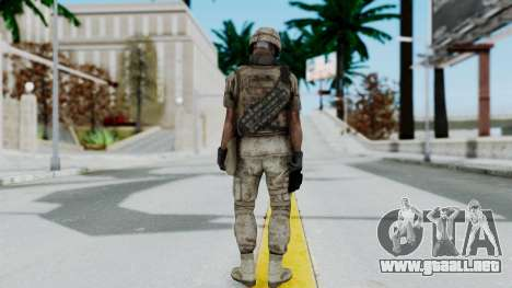 Crysis 2 US Soldier 3 Bodygroup B para GTA San Andreas tercera pantalla