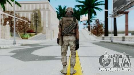 Crysis 2 US Soldier 3 Bodygroup B para GTA San Andreas tercera pantalla