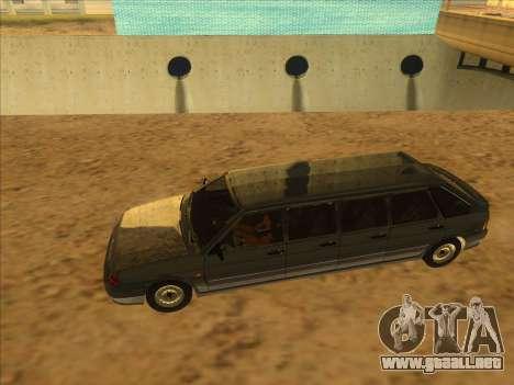VAZ 2114 9-door para la visión correcta GTA San Andreas