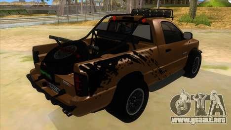 Dodge Ram SRT DES 2012 para la visión correcta GTA San Andreas