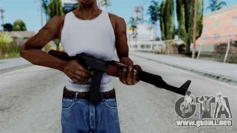 GTA 3 AK-47 para GTA San Andreas tercera pantalla