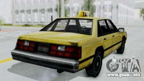 Taxi from GTA Vice City para la visión correcta GTA San Andreas