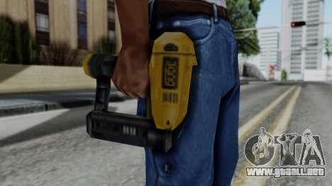 Vice City Beta Nailgun para GTA San Andreas tercera pantalla