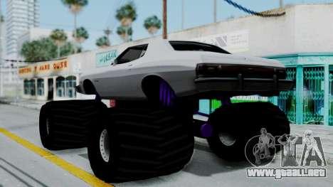 Ford Gran Torino Monster Truck para GTA San Andreas left