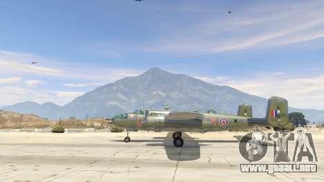 GTA 5 B-25 segunda captura de pantalla