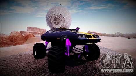GTA 5 Imponte Phoenix Monster Truck para vista lateral GTA San Andreas