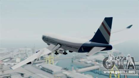GTA 5 Jumbo Jet v1.0 Air Herler para GTA San Andreas left