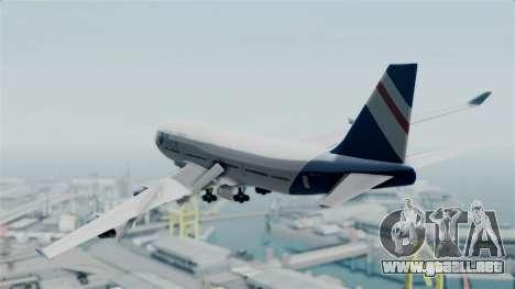 GTA 5 Jumbo Jet v1.0 Air Herler para GTA San Andreas left