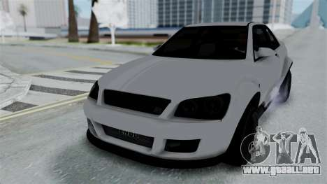 GTA 5 Karin Sultan RS Stock PJ para vista inferior GTA San Andreas