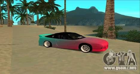 Nissan 240SX para GTA San Andreas left