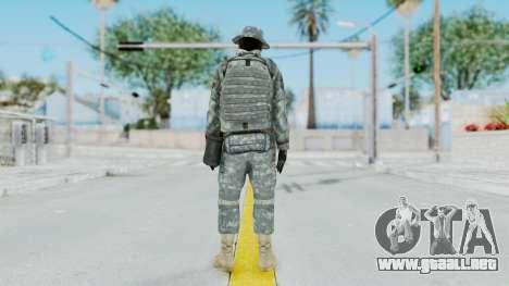 Acu Soldier 7 para GTA San Andreas tercera pantalla