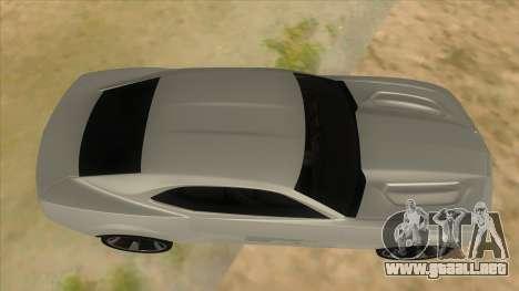 Chevrolet Camaro DOSH tuning MQ para visión interna GTA San Andreas