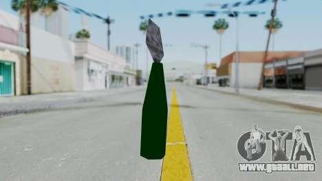Vice City Molotov para GTA San Andreas segunda pantalla