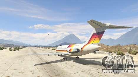 GTA 5 McDonnell Douglas DC-9-15 tercera captura de pantalla