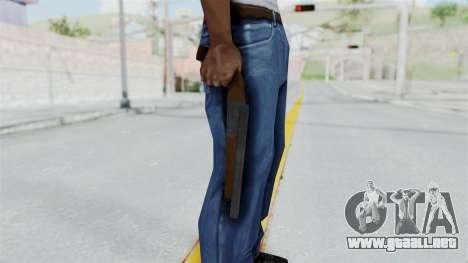 Double Barrel Shotgun from Lowriders CC para GTA San Andreas tercera pantalla
