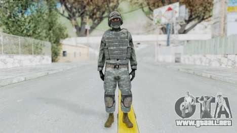 Acu Soldier Balaclava v4 para GTA San Andreas segunda pantalla