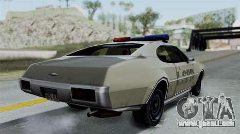 Police Clover para GTA San Andreas left