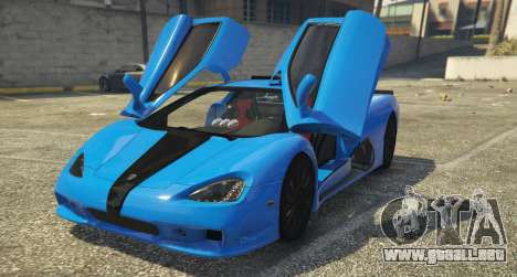 GTA 5 SSC Ultimate Aero [Replace] 1.0 vista trasera