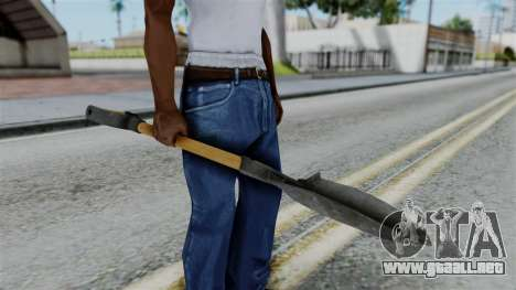No More Room in Hell - Shovel para GTA San Andreas tercera pantalla