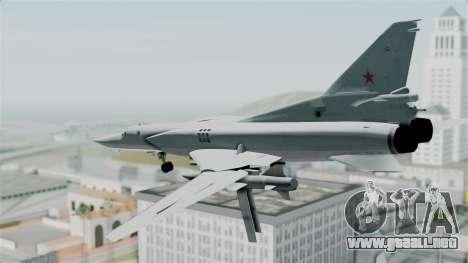 TU-22M3 Verde para la visión correcta GTA San Andreas