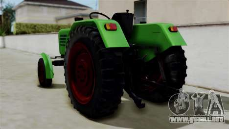 Torpedo Traktor para GTA San Andreas left