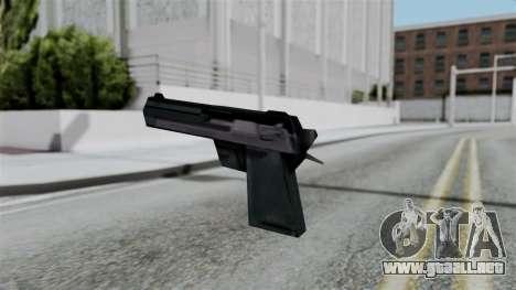 Vice City Beta Desert Eagle para GTA San Andreas segunda pantalla