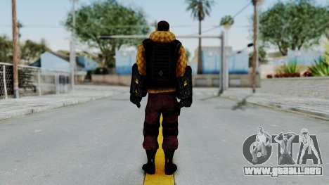 TASM2 Shocker para GTA San Andreas tercera pantalla