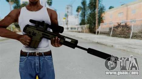SCAR-20 v1 Folded para GTA San Andreas tercera pantalla
