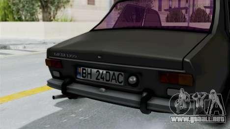 Dacia 1300 Edition[RC] para GTA San Andreas vista hacia atrás