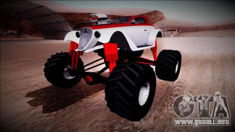 GTA 5 Hotknife Monster Truck para GTA San Andreas