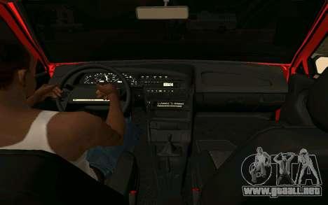 2109 Formación para GTA San Andreas vista posterior izquierda