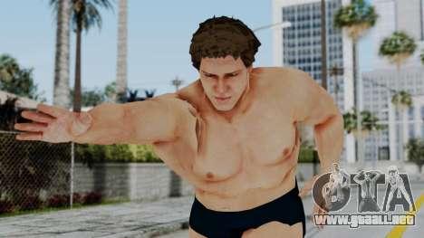 Andre Giga para GTA San Andreas