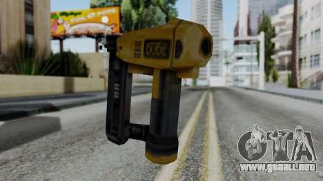 Vice City Beta Nailgun para GTA San Andreas segunda pantalla