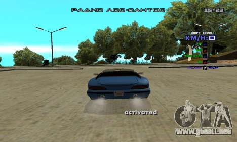Drift Camera para GTA San Andreas